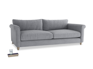 Extra large Weekender Sofa in Dove grey wool