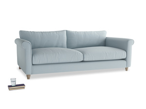 Extra large Weekender Sofa in Scandi blue clever cotton