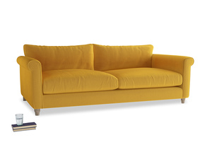 Extra large Weekender Sofa in Pollen Clever Deep Velvet