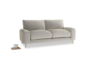 Small Strudel Sofa in Smoky Grey clever velvet
