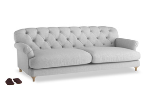 Extra large Truffle Sofa in Cobble house fabric
