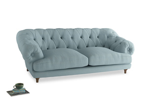 Large Bagsie Sofa in Powder Blue Clever Softie