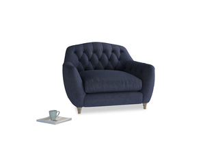 Love Seat Butterbump Love Seat in Seriously Blue Clever Softie
