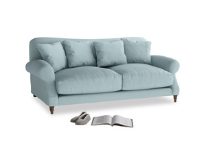 Medium Crumpet Sofa in Powder Blue Clever Softie