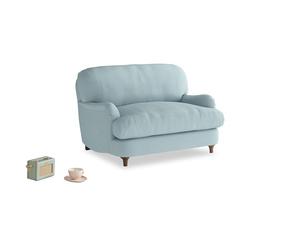 Jonesy Love seat in Powder Blue Clever Softie