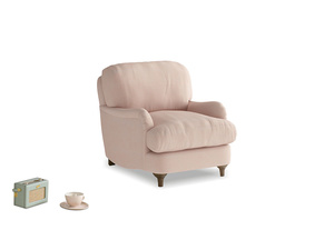 Jonesy Armchair in Pink clay Clever Softie