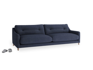 Large Slim Jim Sofa in Seriously Blue Clever Softie