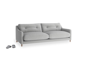 Medium Slim Jim Sofa in Pewter Clever Softie