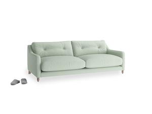 Medium Slim Jim Sofa in Soft Green Clever Softie