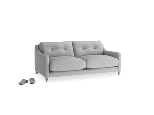 Small Slim Jim Sofa in Pewter Clever Softie