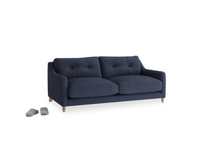 Small Slim Jim Sofa in Seriously Blue Clever Softie