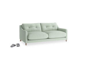Small Slim Jim Sofa in Soft Green Clever Softie