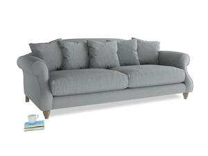 Large Sloucher Sofa in Armadillo Clever Softie