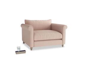 Weekender Love seat in Pink clay Clever Softie