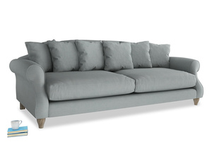 Extra large Sloucher Sofa in Armadillo Clever Softie