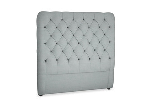 Double Tall Billow Headboard in Armadillo Clever Softie