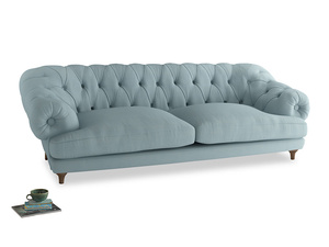 Extra large Bagsie Sofa in Powder Blue Clever Softie