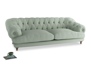 Extra large Bagsie Sofa in Soft Green Clever Softie