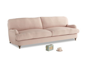 Large Jonesy Sofa in Pink clay Clever Softie