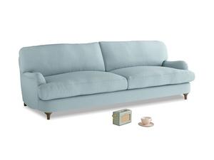 Large Jonesy Sofa in Powder Blue Clever Softie