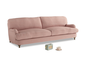 Large Jonesy Sofa in Tuscan Pink Clever Softie