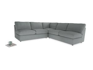 Even Sided  Chatnap modular corner storage sofa in Armadillo Clever Softie