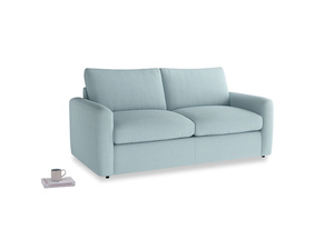 Chatnap Sofa Bed in Powder Blue Clever Softie with both arms