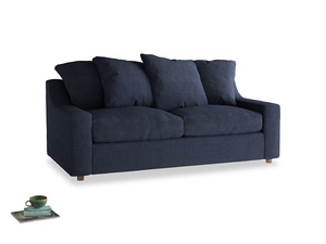 Medium Cloud Sofa in Seriously Blue Clever Softie