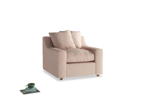 Cloud Armchair in Pink clay Clever Softie