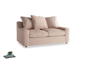 Small Cloud Sofa in Pink clay Clever Softie