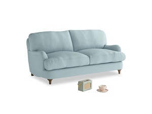 Small Jonesy Sofa in Powder Blue Clever Softie