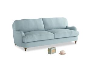 Medium Jonesy Sofa in Powder Blue Clever Softie
