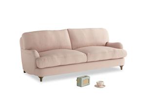 Medium Jonesy Sofa in Pink clay Clever Softie