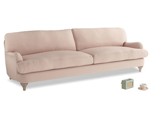 Extra large Jonesy Sofa in Pink clay Clever Softie