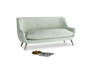Medium Berlin Sofa in Soft Green Clever Softie