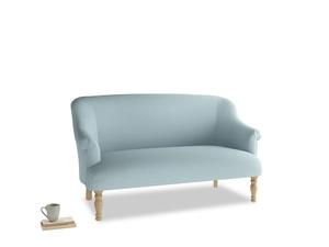Medium Sweetie Sofa in Powder Blue Clever Softie