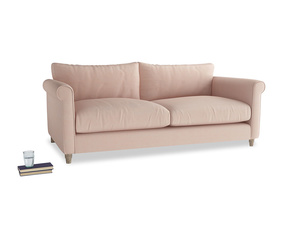 Large Weekender Sofa in Pink clay Clever Softie