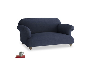 Small Soufflé Sofa in Seriously Blue Clever Softie