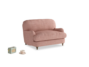 Jonesy Love seat in Blossom Clever Laundered Linen