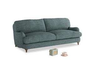 Medium Jonesy Sofa in Anchor Grey Clever Laundered Linen