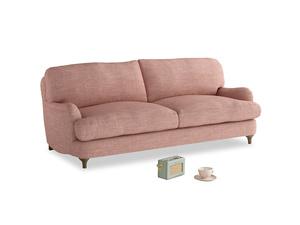 Medium Jonesy Sofa in Blossom Clever Laundered Linen
