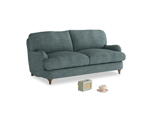 Small Jonesy Sofa in Anchor Grey Clever Laundered Linen