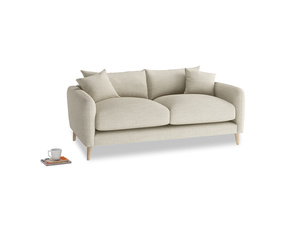 Small Squishmeister Sofa in Shell Clever Laundered Linen