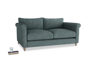 Medium Weekender Sofa in Anchor Grey Clever Laundered Linen
