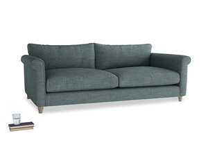 Extra large Weekender Sofa in Anchor Grey Clever Laundered Linen