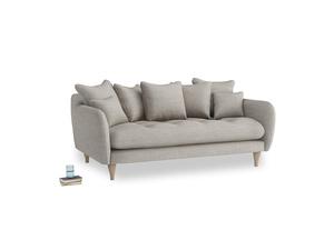 Medium Skinny Minny Sofa in Grey Daybreak Laundered Linen