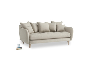 Medium Skinny Minny Sofa in Thatch house fabric