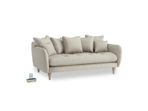 Medium Skinny Minny Sofa in Thatch house fabric
