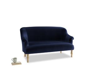 Medium Sweetie Sofa in Goodnight blue Clever Deep Velvet