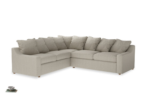 XLLH Cloud Corner Sofa Bed Cut Out